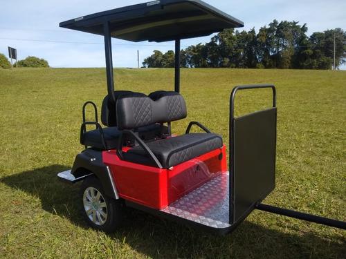 Imagem 1 de 8 de Carretinha Plus Para Quadriciclos Utv/atv/carrinho De Golfe