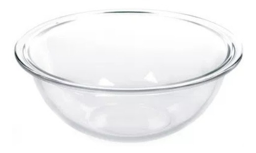 Ensaladera Bowl Plus Marinex 25cm Vidrio 3 Lts Fuente Horno