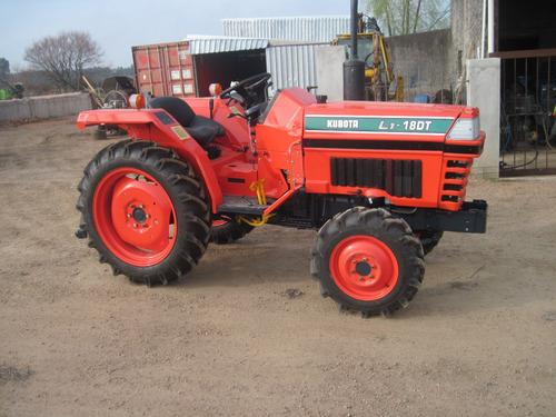 Tractor  Kubota L1-18dt 4x4