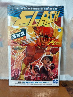 Cómic Flash Rebirth Volumen 1 2 Y 3 3x2 Envío Gratis