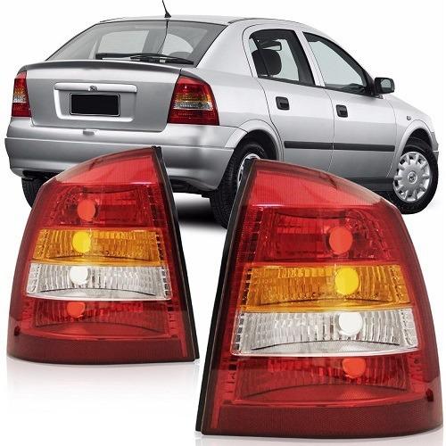Lanterna Astra Hatch 98 99 2000 2001 2002 Tricolor Cristal