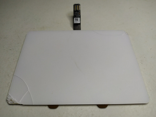 Trackpad Macbook White A1342 Trincado Mas Funciona Normal