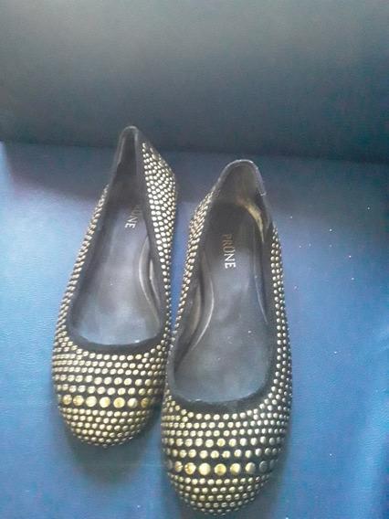 Zapatos Marca Prune Taco Bajo