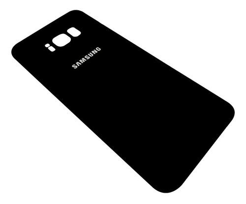 Tapa Vidrio Trasera Samsung S8 Plus Negra  Mejor Calidad