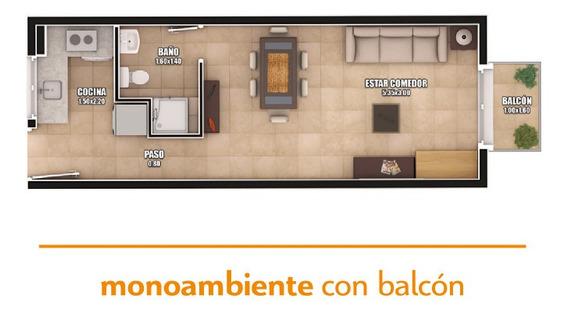 Pre Venta Monoambiente A Estrenar En San Luis Capital