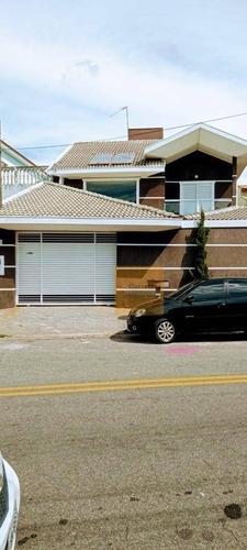 Sobrado Com 4 Dormitórios À Venda, 174 M² Por R$ 670.000,00 - Jardim Altos De Santana I - Jacareí/sp - So0661