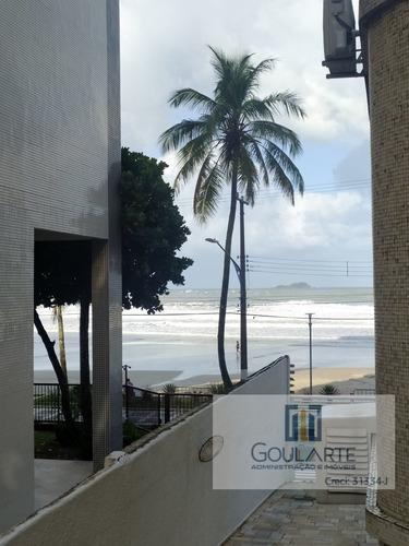 Imagem 1 de 30 de Apartamento Alto Padrão Com 3 Dormitórios + Dependência De Empregada, 1 Vaga De Garagem E Vista Parcial Para O Mar Na Pr - 3591