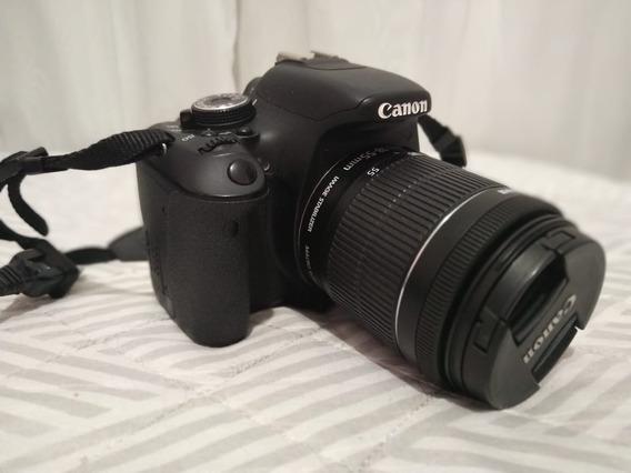 Canon T3i + Lente 18-55mm + Lente 55-250mm + Bolsa