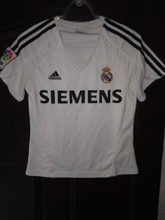 Camisa Real Madrid 2006 Baby Look