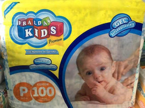 Fralda Infantil Kids Premium