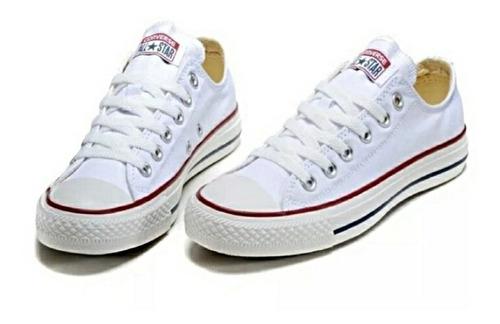 Converse All Star Clasicas Blancas Unisex...envio Gratis