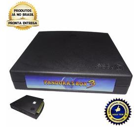 Placa Pandora Box 3 Hd 520 Jogos + Chicote Jamma 28pin