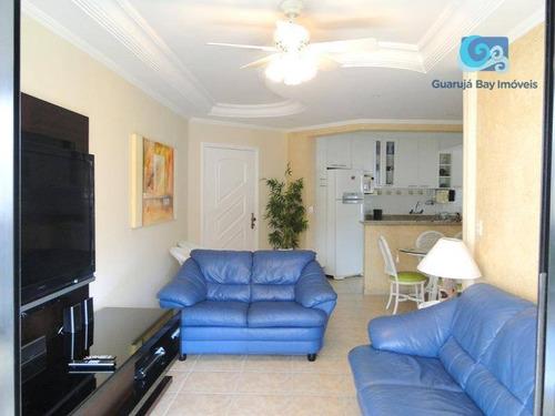 Imagem 1 de 30 de Apartamento Com 3 Dormitórios À Venda, 127 M² Por R$ 750.000 - Praia Da Enseada - Guarujá/sp - Ap4559