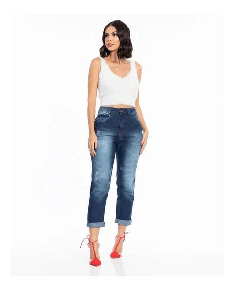 Calça Biotipo Jeans Feminina Mom