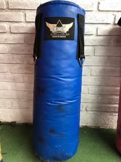 Costal De Box Profesional De Lona Mjm In