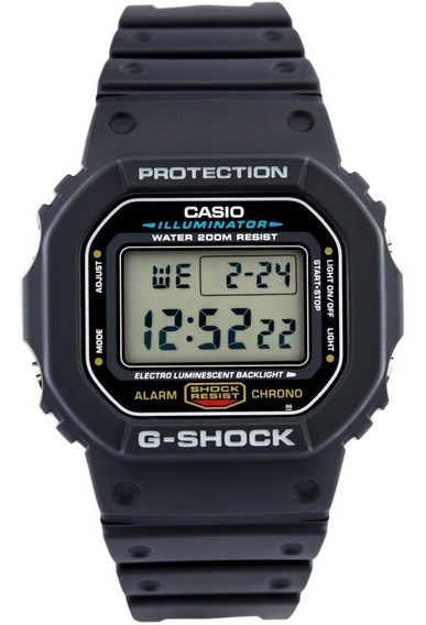 Reloj Casio G-shock Dw-5600e-1v - 100% Nuevo En Caja