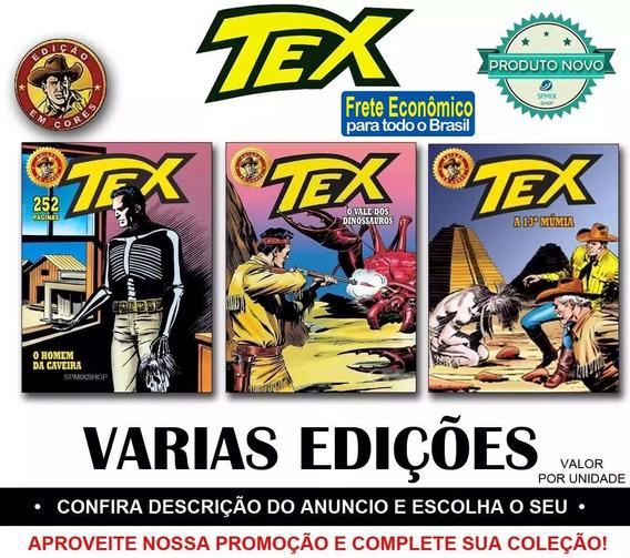Tex Edição Em Cores Novas Revista Faroeste - Frete R$ 12,00