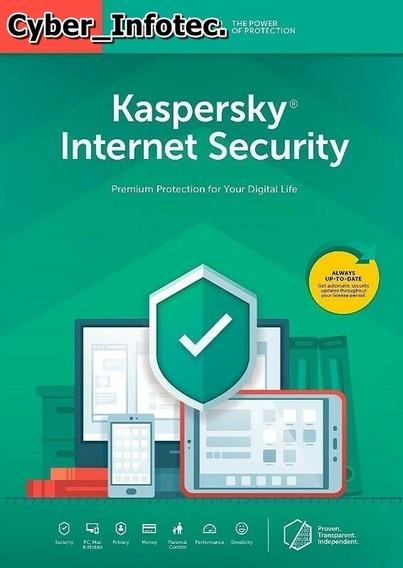 Kaspersky Internet Security - 2020 - 1 Pc + Renovação.