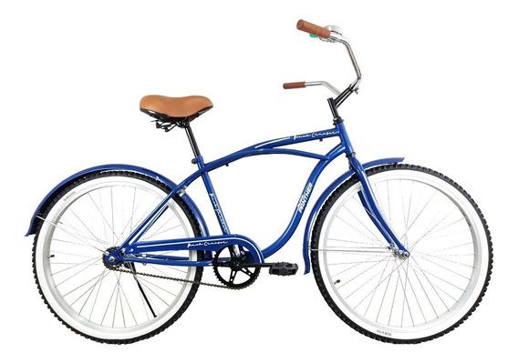 Bicicleta Vintage Cruiser Rodada 24 Para Caballero