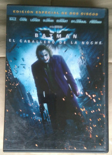 Dvd Batman Caballero Noche Dark Knight Original 2 Discos