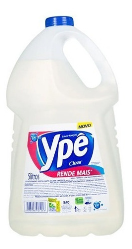 Detergente Ype 5 Litros Clear