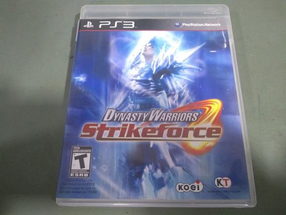Jogo Seminovo Dynasty Warriors Strikeforce Ps3 Aproveite!!!