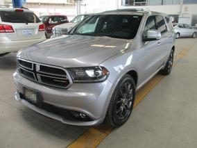 Dodge Durango R/t 2017 Plata Martillado