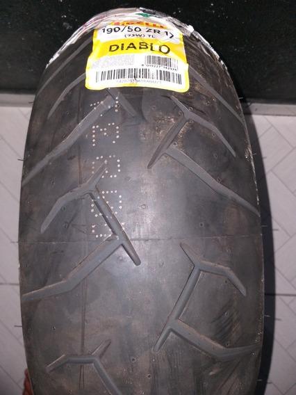 Pneu Diablo Rosso Pirelli 190/50/17 Super Oferta