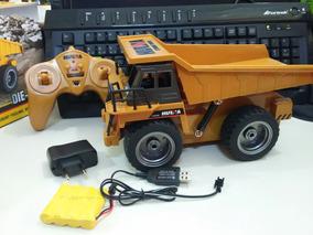 Caminhão Controle Remoto A Bateria Com Casamba Basculante