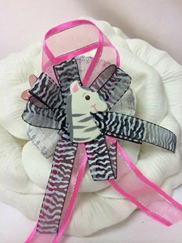 Baby Shower Jungle Zebra Corsage Favor Madre A Ser Regalo De