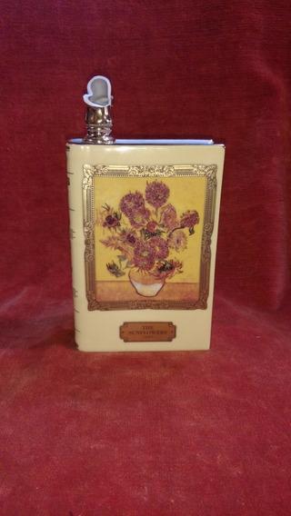 Botella De Porcelana Limoges Cognac Camus Van Gogh Libro