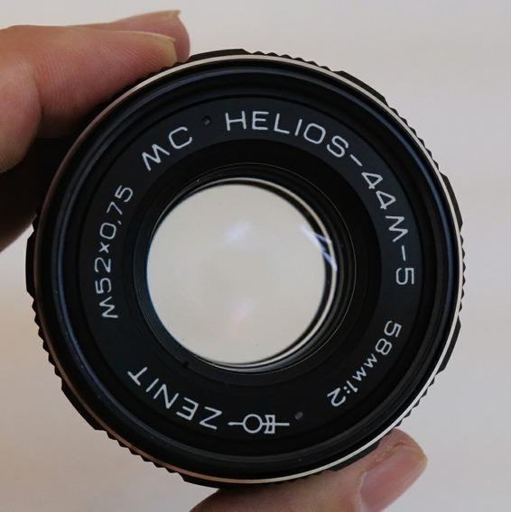 Lente Zenit Helios 44m-5 58mm F2