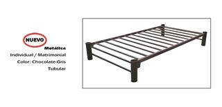 Base Para Cama Metalica Individual (con Colchón $1000 Más)