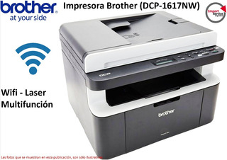 Impresora Brother Laser Multifuncion (dcp-1617nw) Wifi