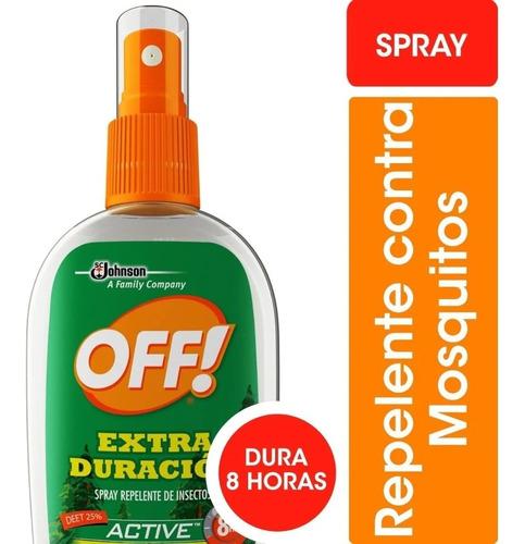 Off Spray Extra Duración Repelente X200 Ml - 3 Unidades