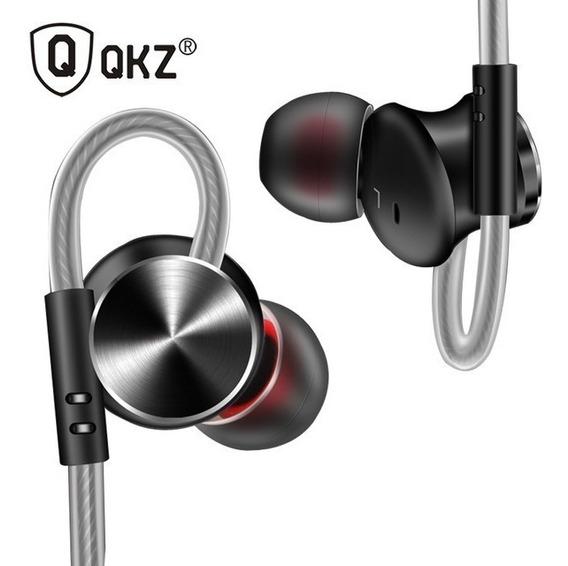 Fone De Ouvido Qkz Dm10 Liga De Zinco Top Beats Sony