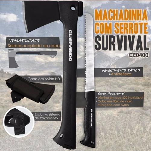 Machadinha Com Serrote Survival Guepardo | Mercado Livre