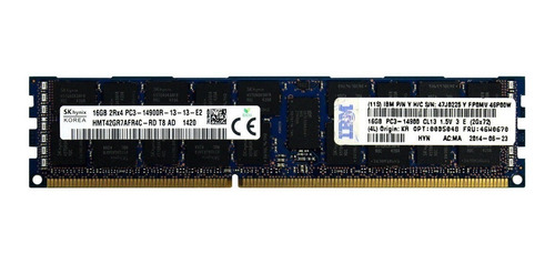 Imagem 1 de 4 de Memoria Ram 32gb (2x16gb) Pc3-14900r 1866mhz Mac Pro 2013