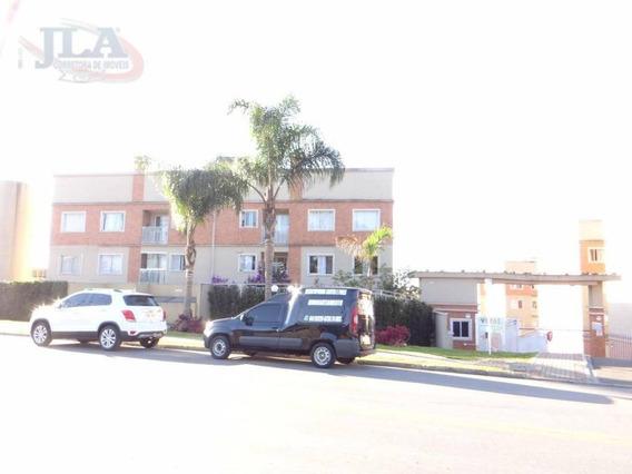 Apartamento Com 2 Dormitórios Para Alugar, 55 M² Por R$ 1.050/mês - Campina Do Arruda - Almirante Tamandaré/pr - Ap0363