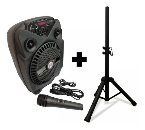 Parlante Reproductor Usb Bluetooth Recargabl Grand + Gratis!