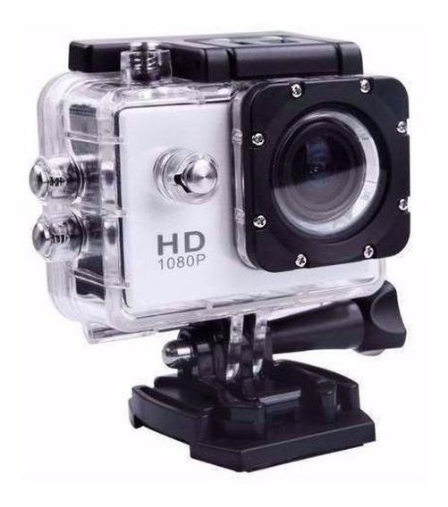 Câmera Filmadora Esportiva Full Hd 1080p Estilo Gopro Água