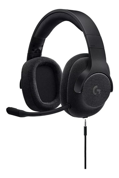 Headset Gamer Logitech 7.1 G433 Preto Pc, Ps4®, Xbox® One