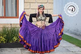 fb42882c21 Faldas de Mujer Corta Circular Azul en Mercado Libre México