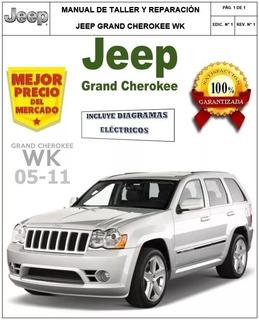 Manual Automotriz Jeep Grand Cherokee 05-10 Taller Español