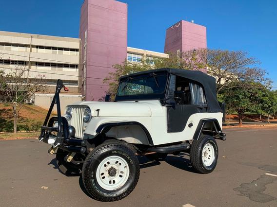 Jeep Willys Cj5 1975 Branco - Imperdível