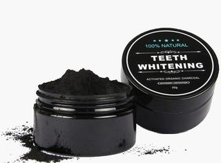 Carbón Activado Coco Blanqueador Dental Organico Dientes