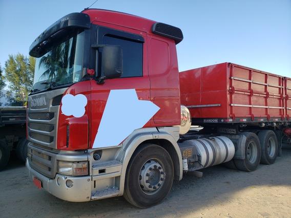 Scania G420 A 6x2 Ano 2009/2010 Único Dono= Volvo 440 Mb