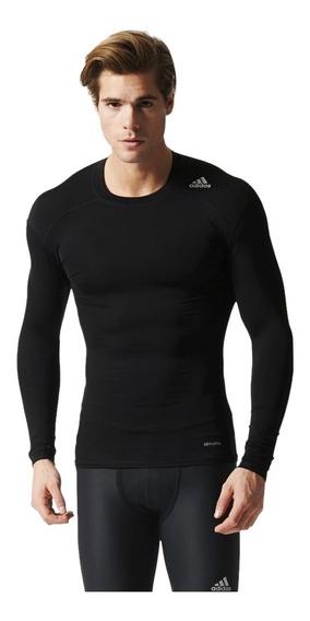 Camiseta Masculina adidas Techfit Base Aj5016