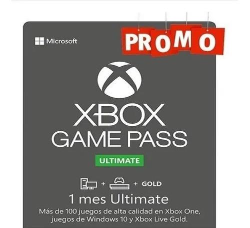 Game Pass Últimate + Ea Play 1 Mes Original Aprovecha!!!