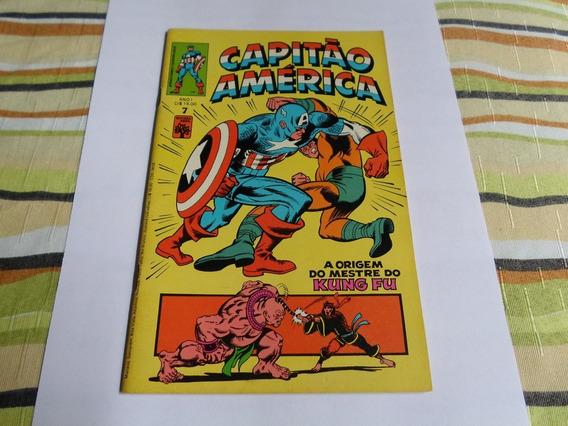 Capitão America 7 Editora Abril